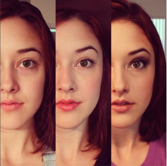 【どう思う?】 ある美女が3種類のメイクで男性の反応を調査  / 「すっぴん」「ナチュラル」「フルメイク」で全く異なったリアクションが返ってきた!