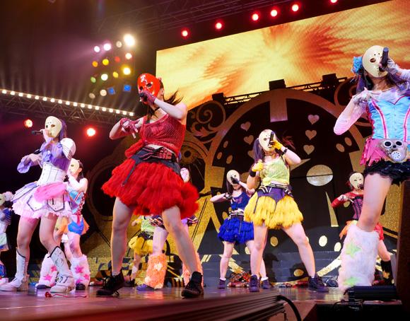 最強地下アイドル「仮面女子」がROCK IN JAPANに続いてサマソニに参戦決定! 祭りじゃーーーッ!!