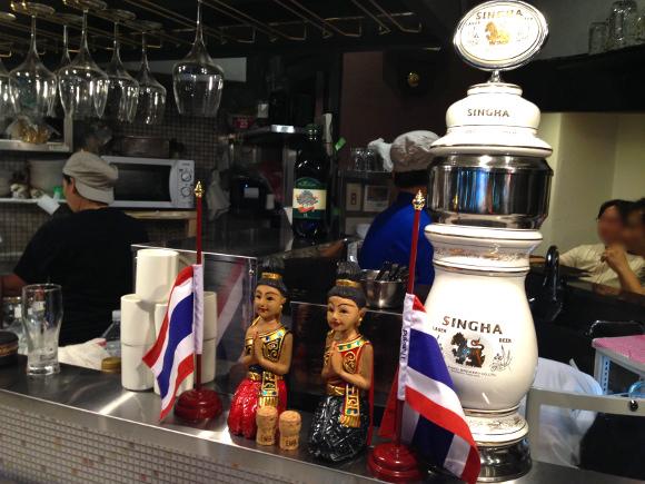 【意外にはじめて】「シンハーの生ビール」が飲めるタイ料理屋がオープンしたぞー! 湯島『サイアム食堂』