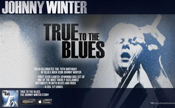 【訃報】伝説のブルースギターリスト ジョニー・ウィンター死去 / 享年70歳