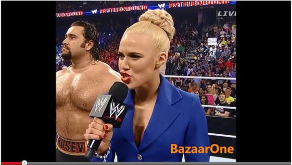 WWEの試合でマネジャーが過激すぎるマイクパフォーマンス「ロシア大統領は私のアイドル」と発言し炎上騒ぎに