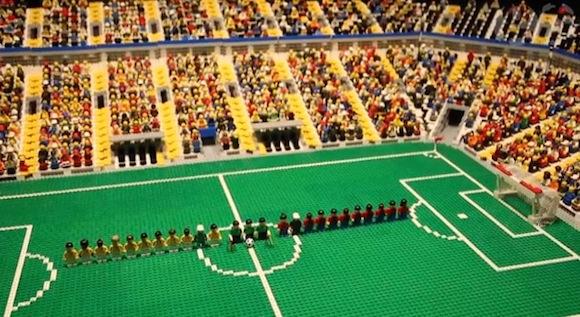 【ブラジルW杯】クオリティーが高くてビックリ! 玩具『LEGO』で再現した試合がおもしろい!!