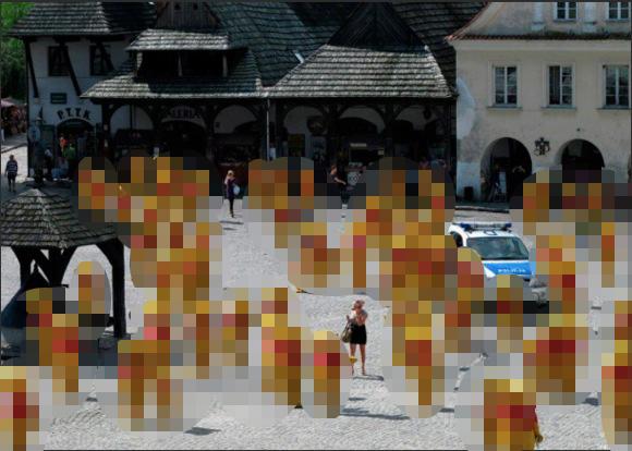 マジか!? くまのプーさんだらけの広場が激写される
