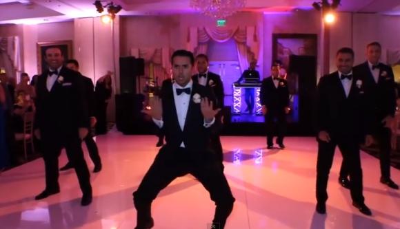 男だけでビヨンセを! 結婚式のサプライズ動画が公開から1週間で再生回数1400万回突破と大ヒット中 / ネットの声「何てロマンティクなの」