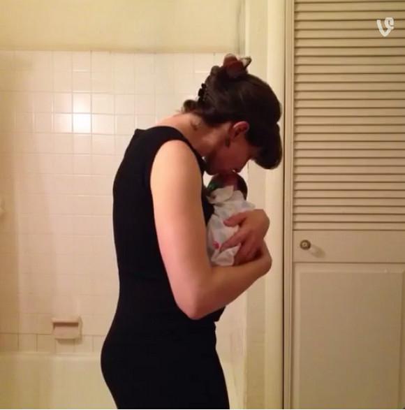 こうやってお腹の中で大きくなったんだよ! ママの妊娠9カ月間を6秒間にまとめた動画がとっても素敵!!