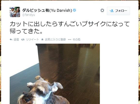 【気の毒】ダルビッシュ有選手が飼い犬をカットに出したらトンでもないことに! ネットの声「あり得ない」