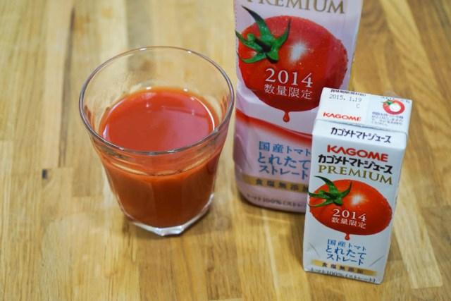 【トマトヌーヴォー】今日発売の『カゴメトマトジュースプレミアム』が激ウマ!畑でもいで冷やしたトマトを食べたアノ味わい