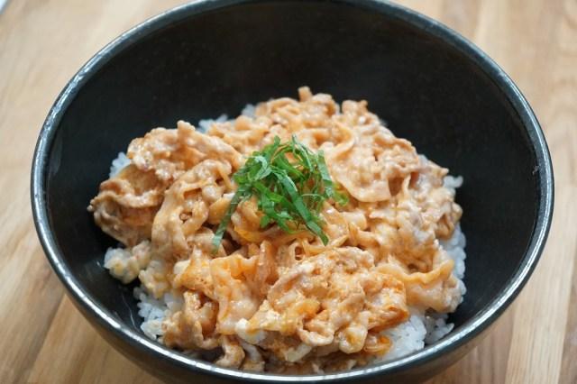 9月1日はギリシャヨーグルトの日! パルテノで作った豚味噌丼がまろやかウマい件