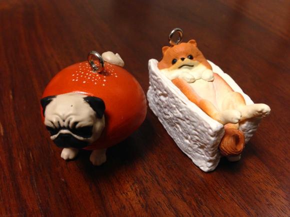 """【キュートすぎるガチャ】「犬+パン」の『いぬパン』が反則レベルの可愛さ! """"食べちゃいたくなる"""" とはこのことだワン!!"""
