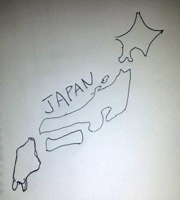 【検証】日本好き外国人の日本愛を確かめるために日本地図を描かせてみた! 香港人・アメリカ人・タイ人・イギリス人・デンマーク人・ベトナム人編
