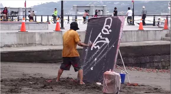 考えるな、感じるんだ!! 最後まで見た人だけが感動する台湾ストリートアーティストのパフォーマンスに世界がぶったまげ中!
