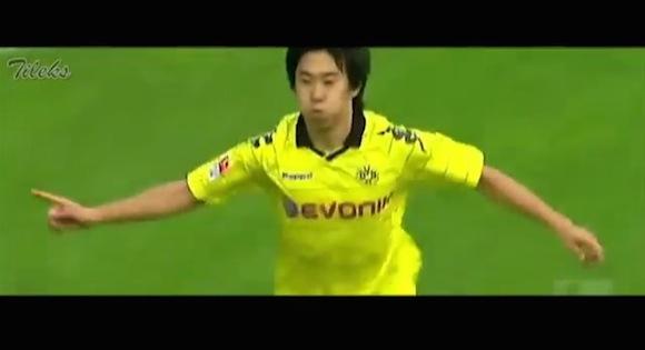 【衝撃サッカー動画】古巣・ドルトムントへ復帰! 2010〜12年在籍時の香川真司選手のプレーが何度見てもやっぱりスゲーッ!!