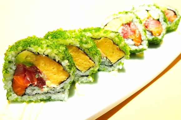 「ブラジルロール」を食べてみた / 日本人以上に日本人の心を持つ外国人みたいな寿司だった