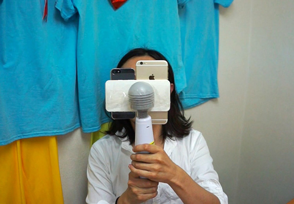 【動画あり】iPhone6の「映画レベルのビデオ手ぶれ補正」は日本最強の電動マッサージ機『スライヴ』の振動にも耐えられるのか検証してみた