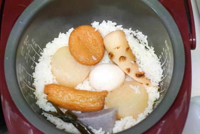 【コスパ良い贅沢】セブンイレブンのおでんを使った『おでん炊き込みご飯』が最強にウマくて安すぎる件