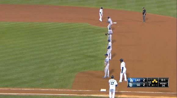 【衝撃野球動画】これぞ究極の心理戦! メジャーリーグで敷かれたあまりに豪快すぎる守備隊形