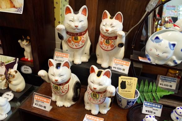"""9月29日は """"来る福"""" で「まねき猫の日」ニャン! 東京は谷中で縁起のいい『まねき猫専門店』を見つけたよ!!"""