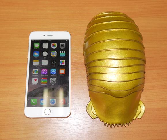 【iPhone6行列番外編】届けられた差し入れでもっとも迷惑だったもの「ダイオウグソクムシ」のiPhoneケース
