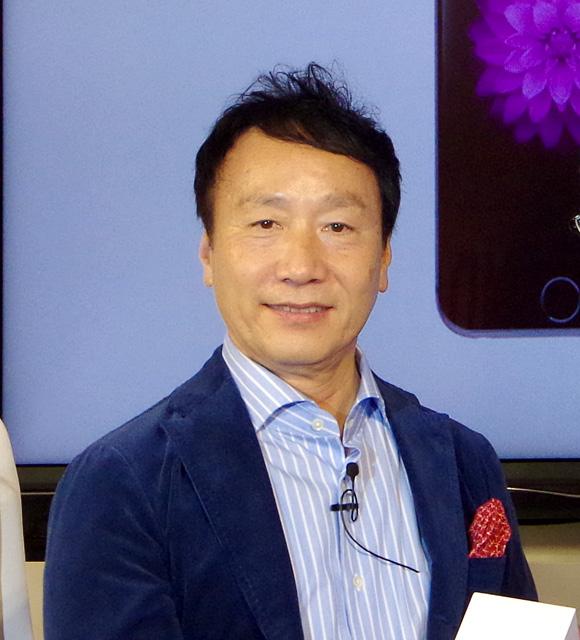 【iPhone6発売記念イベント】加藤薫社長画像集 / はるかに若々しくなったその姿