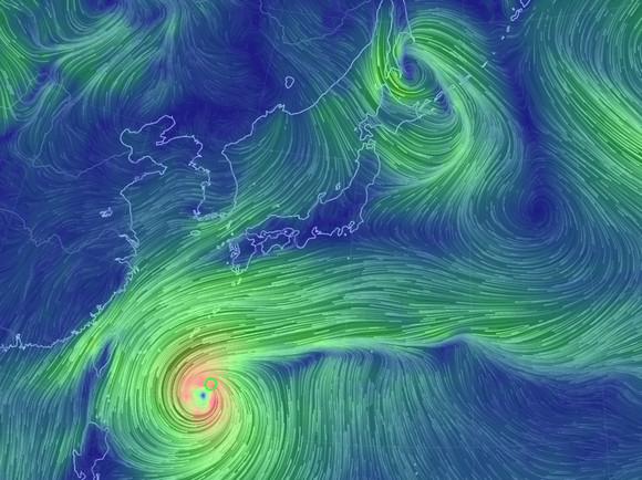 【連休は台風19号直撃か】ほぼリアルタイムでわかる台風・雨・風の情報サービスで台風を見てみよう