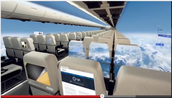 眺めが超絶素晴らしい! 英国開発会社が「窓のない航空機」のコンセプト動画を発表 / しかし高所恐怖症の人は……