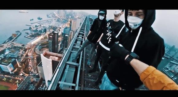【衝撃動画】次の狙いは東京スカイツリー!? 世界の高層ビルに不法侵入を繰り返すロシア人グループが香港で盛大な悪事をやらかす!!