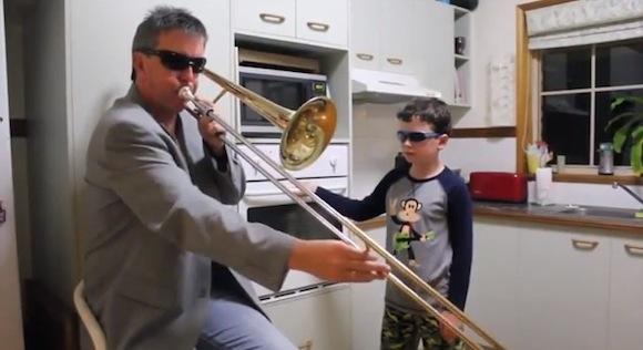 【衝撃動画】たった47秒で最高にイケてることがわかる親子