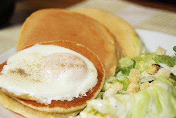 【チョイ足しグルメ】ホットケーキに「味噌」を入れると専門店の味になるらしい!! 試したら極上お食事パンケーキになった