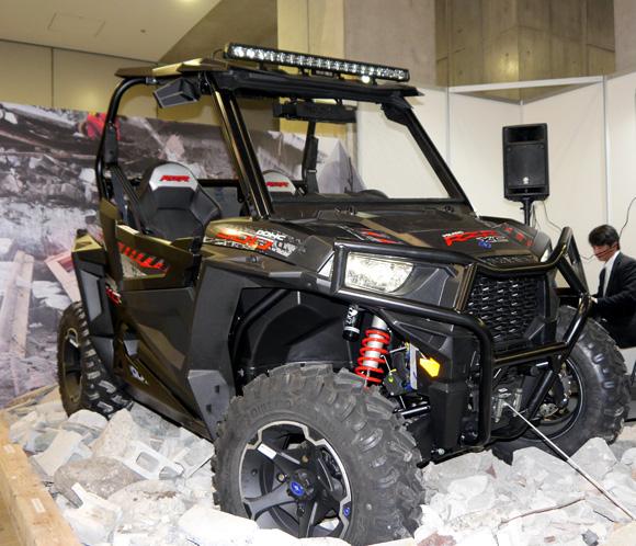 2015年1月発売予定! 米軍特殊部隊も使用している全地形対応車両が猛烈にカッコいい!! エアレスタイヤでパンク知らずだ