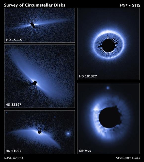 ハッブル宇宙望遠鏡が捉えた美しきブルー「デブリ円盤」 私たちの太陽系でも同じ光景が繰り広げられていたかもと研究者