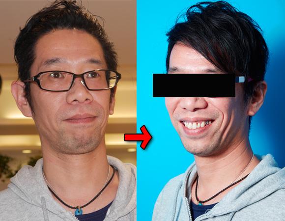 【実録】髪とメガネで男はこんなに変わる! ジョジョを再現したプロヘア&メーキャップアーティストによる「自己ベスト写真館」がスゴすぎた!!