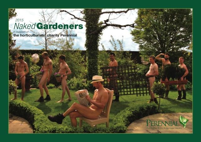【ウホカレ☆2015】ガーデニング界の思いが詰まっている!! 英国庭師によるカレンダーがジェントルにして心温まる 「裸体の庭師2015」