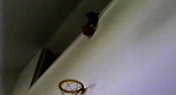 【衝撃バスケ動画】天才現る! 華麗なボールキャッチから狙い澄ましたシュートを決める猫がスゴい!!