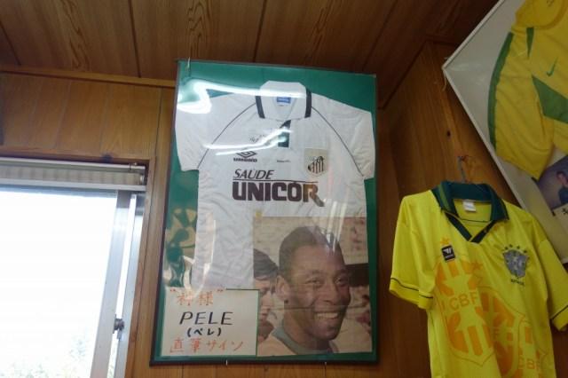 ケツメイシのアルバム「ケツノポリス9」のジャケットにも登場!ペレのサインが飾ってあるブラジル料理と沖縄そばが絶品の店「ブラジル食堂」