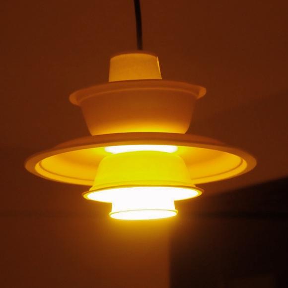 【ライフハック】ペンダント照明の名作「ルイスポールセン PH5」を紙コップと紙皿で作ってみた!