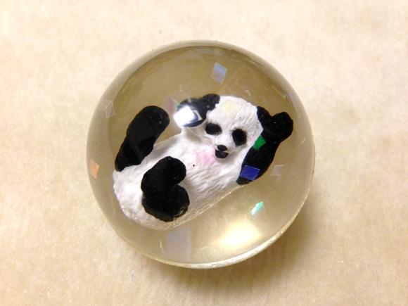 【完全に罠】上野動物園でパンダを見た直後に超絶キュートな「パンダのスーパーボール」があったのでまんまと買っちゃったでござる