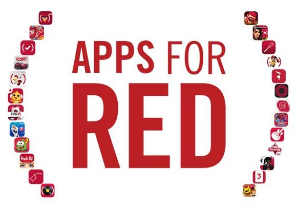 【突如出現】iPhoneアプリのアイコンが若干変わった?「RED」ってなんだ?