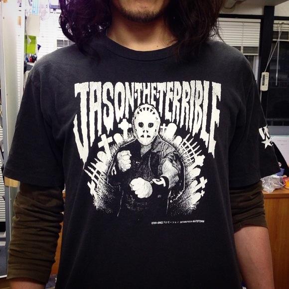 【俺のTシャツ】ここ一番の時にしか着ない「勝負T」は20年以上も前に買った『W☆ING ジェイソン・ザ・テリブルTシャツ』