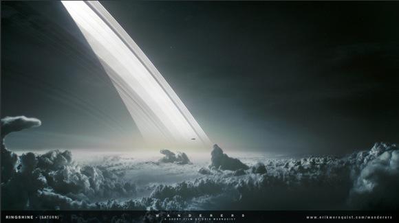 【大画面推奨】実際の宇宙写真を参考に作られた「宇宙旅行動画」がとっても本格的! さあ部屋を暗くして太陽系探査に飛び立とう!!
