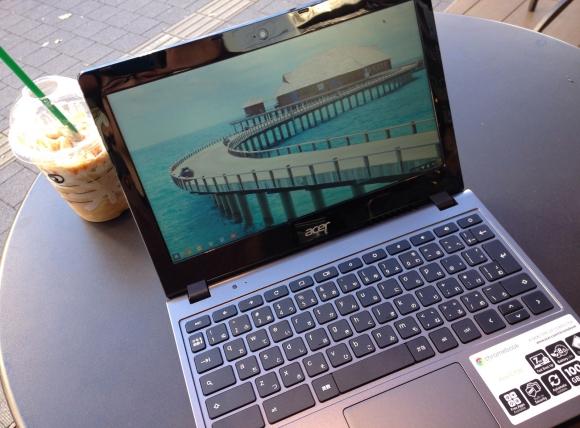 約3万円! コスパ最強パソコンAcer『Chromebook C720』の起動時間は牛丼の提供時間よりも短いことが判明 / しかも8時間以上もスタバでドヤ顔できる!!
