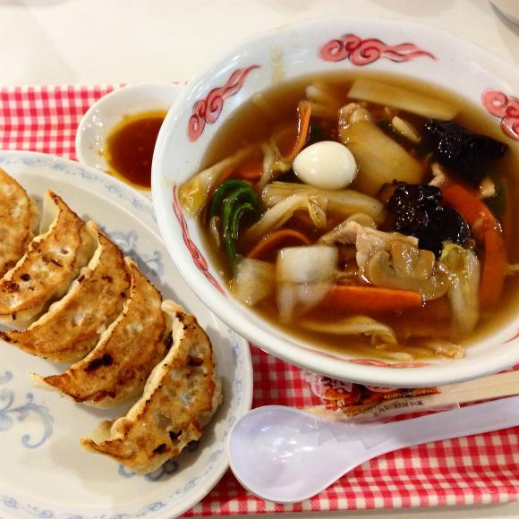 【練馬のグルメ】光が丘の台所「大盛軒」で一番人気の広東麺は寒い冬にピッタリ!