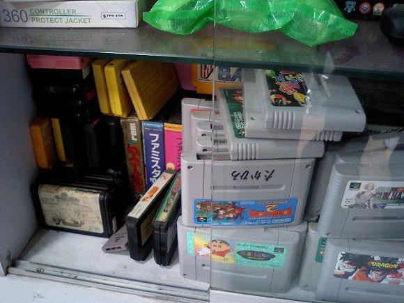 中国のローカルゲーム屋のイチオシは「日本語の名前が書かれたソフト」だった