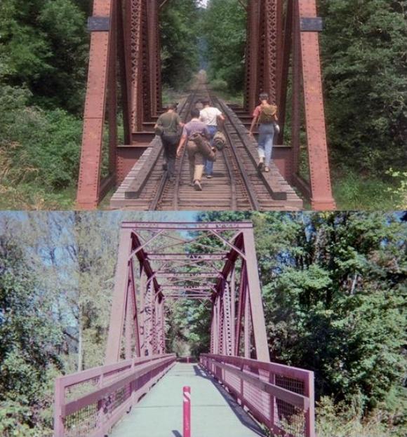 映画『スタンドバイミー』のロケ地は今こうなっている / 映画と現在の風景を比較した写真13連発