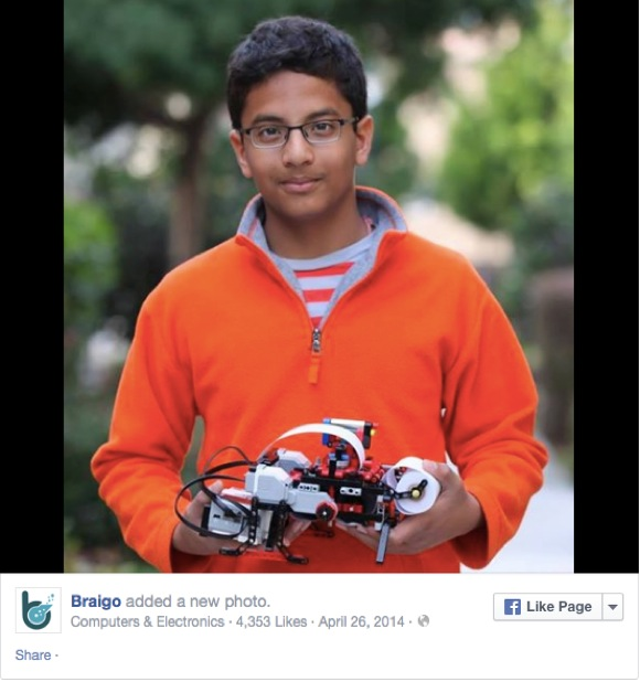 【末恐ろしい子】レゴで『点字プリンター』を発明した13才の少年が起業 / 全ての始まりは「目の不自由な人はどうやって字を読むの?」という素朴な疑問