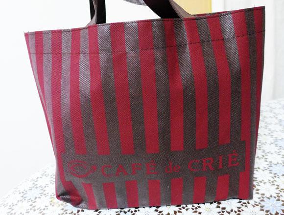 【2015福袋特集】『カフェ・ド・クリエ』の福袋(3000円)の中身を公開 / 同一店舗に通える人ならお買い得かもよ