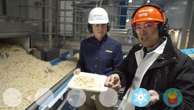 マクドナルドのフライドポテトは本当にジャガイモなのか!? 米マクドナルドが製造工程の動画を公開! 原料も明らかに