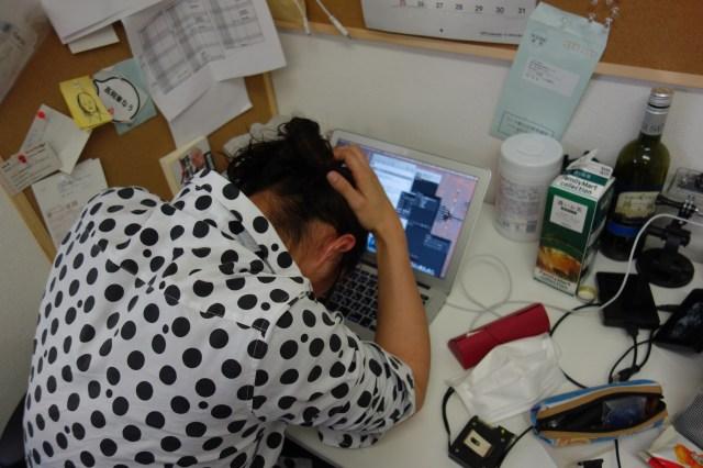 仕事中にしこりすぎて同僚にドン引きされた男性はけっこう多いらしい