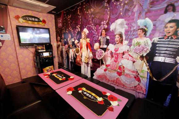 【ヤバイ】カラオケ「ビッグエコー」で『宝塚歌劇』仕様の部屋が大復活! 花・月・雪・星・宙各組のお部屋ができちゃうらしいぞ~っ / 1月10日から