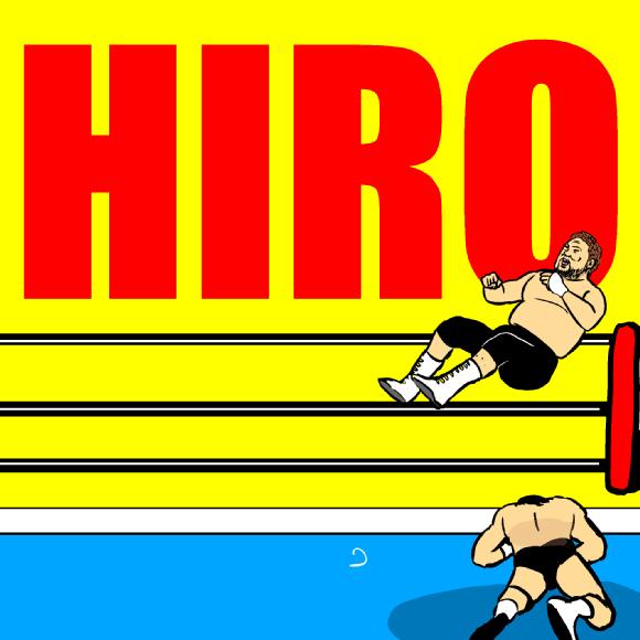 【衝撃格闘動画】プロレスラー「ヒロ斉藤」のセントーン47連発