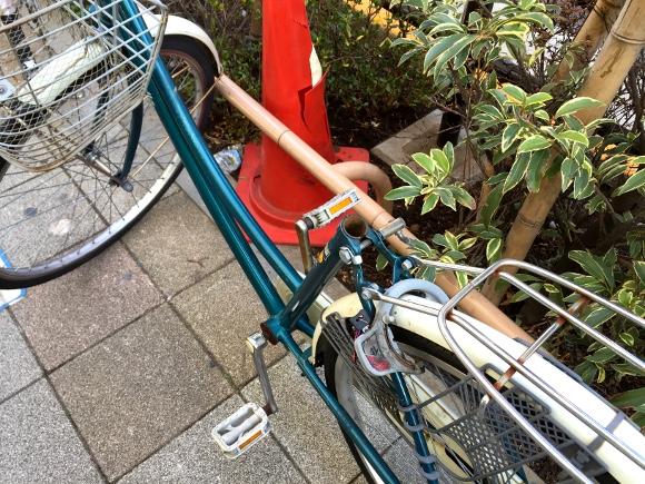 【超ライフハック】どうしても自転車に鍵がかけられない場合「サドル」を外しておくと高確率で盗まれない